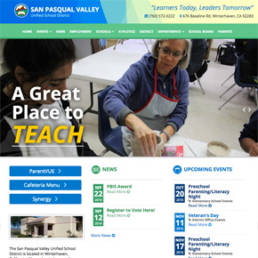 San Pasqual Valley Unified School District